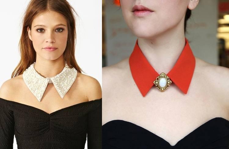 comment porter collier col bijou