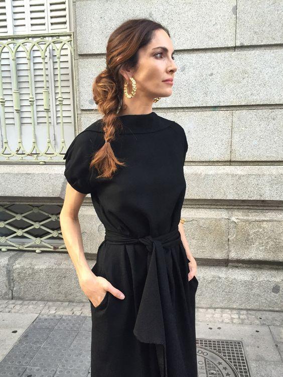 Rever de porter une robe de soiree noire