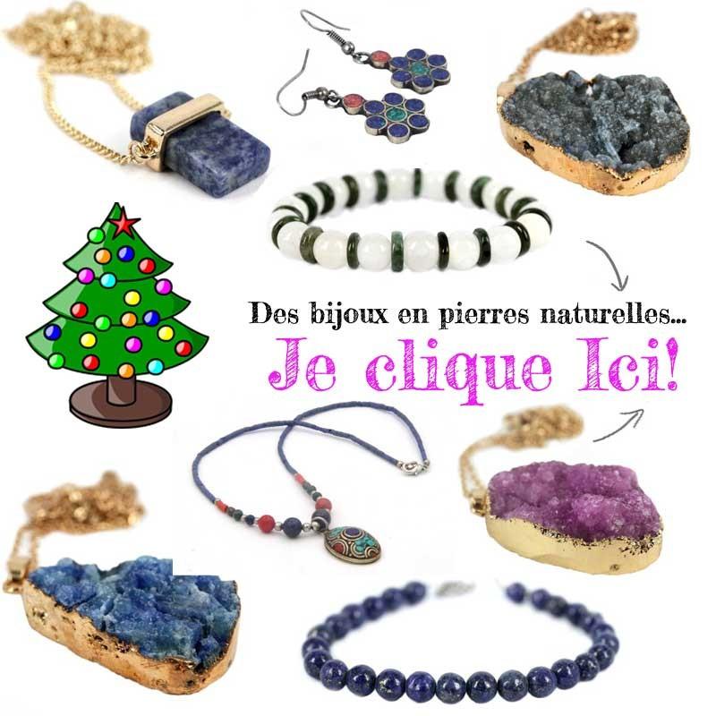 bijoux en pierres naturelles et brute